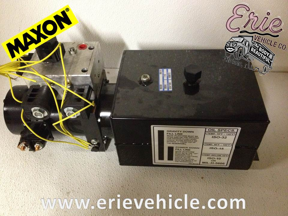 260545 maxon power unit