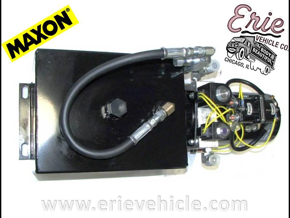 lift gate parts erie vehicle 267655 01 maxon power unit. Black Bedroom Furniture Sets. Home Design Ideas