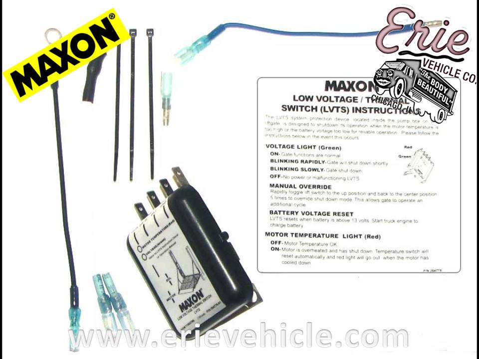 Maxon Liftgate Switch Wiring Diagram 36 Wiring Diagram