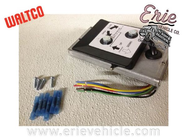 Lift Gate Parts Erie Vehicle - 80001432 waltco dual toggle switch Waltco Liftgate Wdl Wiring Diagram on